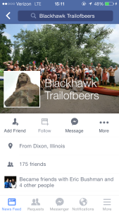 Blackhawk Facebook