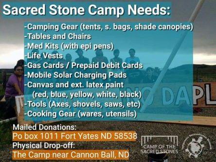 DAPL supplies